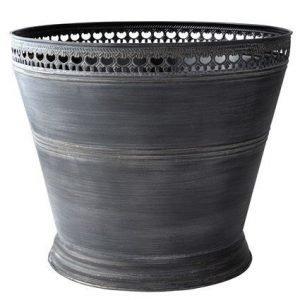 KJ Collection Ruukku Metalli Musta 34 cm