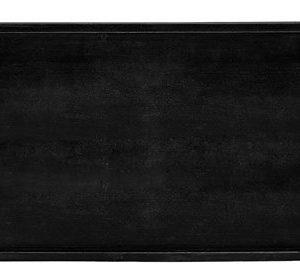 KJ Collection Tarjotin Puu Musta 43x23 cm