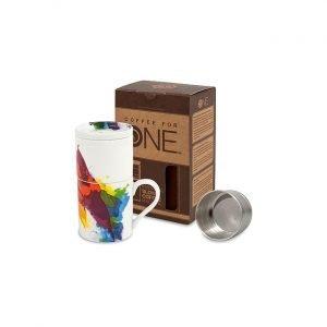Kahvia Yhdelle On Colour Flow Kuppi
