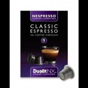 Kahvikapseli Classic N/X 10 kpl - Dualit