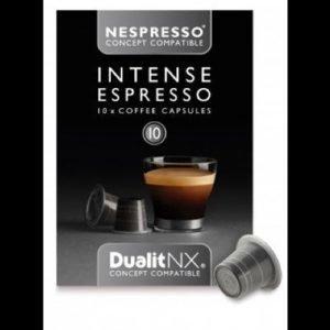 Kahvikapseli Intense N/X 10 kpl - Dualit