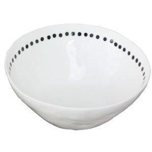 Kajsa Cramer Home Patchy Kulho Dot Valkoinen