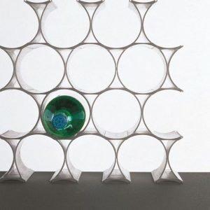 Kartell Infinity Viinihylly Valkoinen