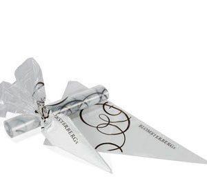Kertakäyttöiset pursotinpussit logo Blomsterberg