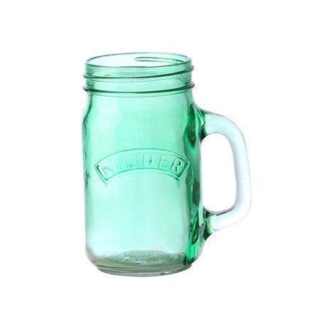Kilner Purkkimuki kahvalla Green KILNER