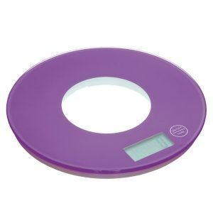 Kitchen Craft Colourworks Elektroninen Keittiövaaka 5 Kg Violetti