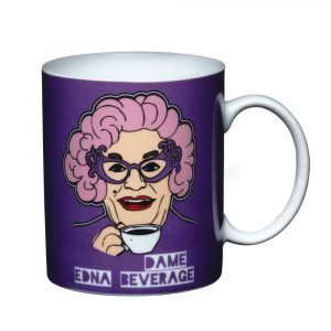 "Kitchen Craft Kitsch'n'fun Muki 250ml ""Dame Edna"""