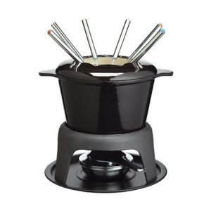 Kitchen Craft Master Class Deluxe Fondue Set Musta