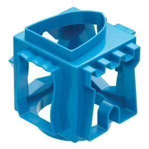 Kitchen Craft Miniamo Cookie Cutter Cube Sininen