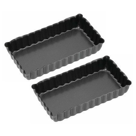 Kitchen Craft Piirakkavuoka mini 2-pack non stick 11 x 6 cm