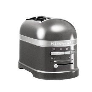 Kitchenaid Artisan Toaster Leivänpaahdin 2 Siivua Medallion Silver