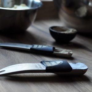Kitchenart Teelusikkamitta Ja Ruokalusikkamitta Säädettävä Ruostumaton Teräs