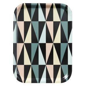 Klippan Yllefabrik Art Deco Tarjotin 20x27 Cm