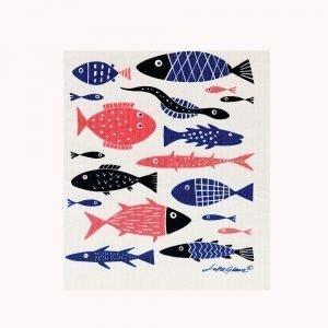 Klippan Yllefabrik Fish Tiskirätti