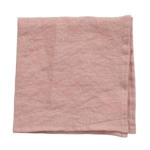 Klippan Yllefabrik Linn Servetti Pale Pink 43x43 Cm