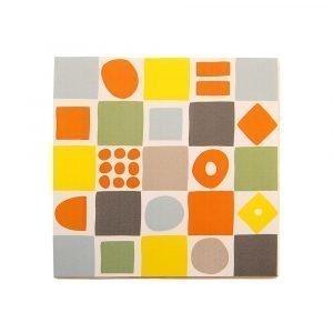 Klippan Yllefabrik Mosaic Paperilautasliina 33x33 Cm