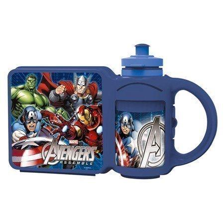 Kombi Pullo + Eväslaatikko Avengers