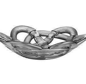 Kosta Boda Basket Hopeakulho Ø 30 cm