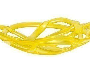 Kosta Boda Basket Kulho keltainen Ø 385 mm