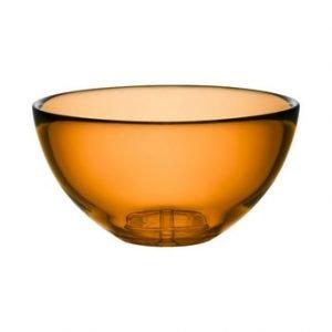 Kosta Boda Bruk Kulho Medium Amber 21.5 Cm