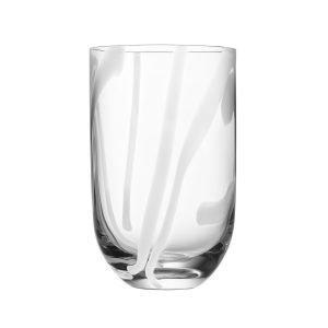 Kosta Boda Contrast Tumbler Valkoinen 40 Cl
