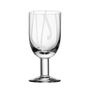 Kosta Boda Contrast Viinilasi Valkoinen 30 Cl