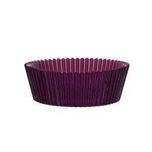 Kosta Boda Cup Cake Vati Violetti 220 Mm