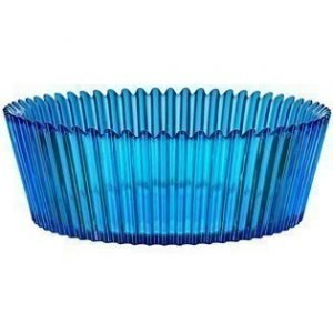 Kosta Boda Cupcake sininen vati