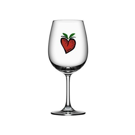 Kosta Boda Friendship Wine Hearts