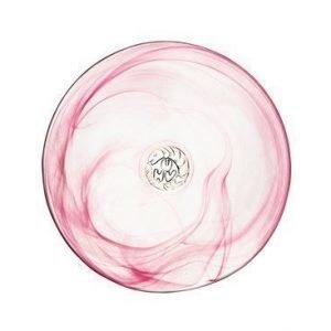 Kosta Boda Mine pinkki asetti Ø 20 cm