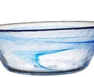 Kosta Boda Mine sininen kulho Ø 25 cm