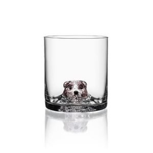 Kosta Boda New Friends Bear Tumbler