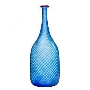 Kosta Boda Red Rim Pullo Sininen