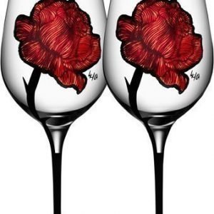 Kosta Boda Tattoo Wine 2-Pack 60 cl
