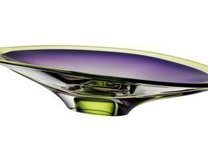 Kosta Boda Vision Purple/Green Vati Ø 50 cm