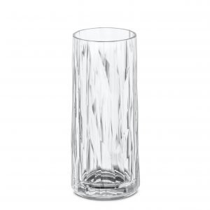 Koziol Club No. 3 Crystal Longdrink Lasi Kirkas 250 Ml
