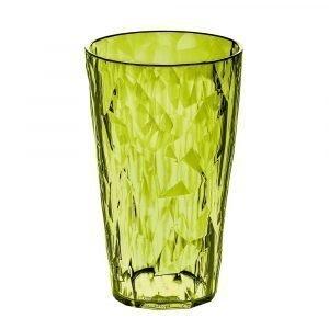 Koziol Crystal 2.0 Lasi L Oliivinvihreä 45 Cl