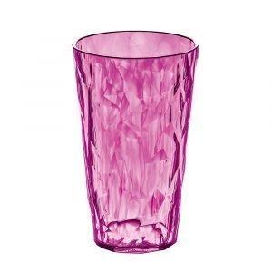 Koziol Crystal 2.0 Lasi L Vaaleanpunainen 45 Cl