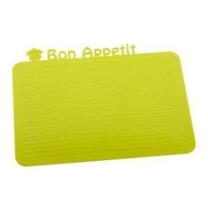 Koziol Happy Board Bon Appetit Tarjotin Sinapinvihreä
