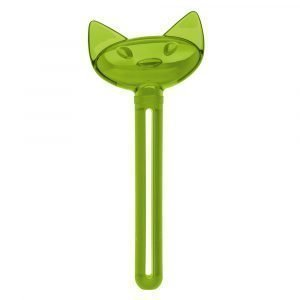 Koziol Miaou Tube Squeezer Olive Green