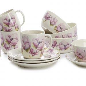 Kultakeramiikka Magnolia Kulhot 4 Dl 4 Kpl