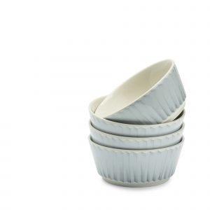 Kultakeramiikka Pom Pom Kulhot Sininen 4 Dl 4 Kpl