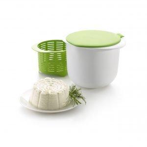 Lékué Cheese Maker Juustomuotti Vihreä / Valkoinen