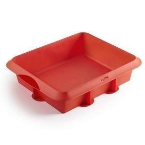 Lékué Classic lasagnevuoka punainen