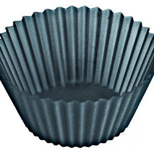 Lékué Muffinssivuoka Musta 12 Kpl