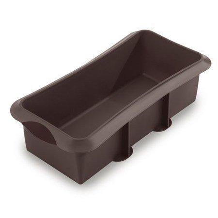 Lékué Suorakulmionmallinen leivosvuoka 28 cm ruskea