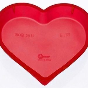 Lékué silikoni sydänvuoka