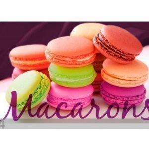 L3c Lautasen Alusta Macarons 4 Kpl