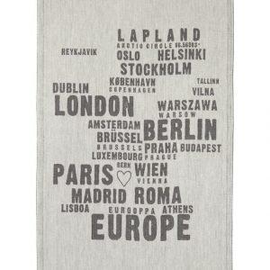 Lapuan Kankurit My Europe Keittiöpyyhe 46 X 70 mm