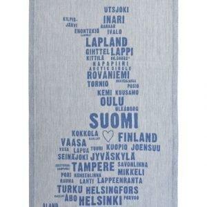 Lapuan Kankurit My Finland Keittiöpyyhe 46 X 70 mm